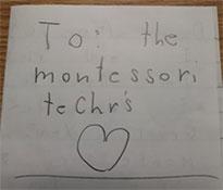 Montessori Letter